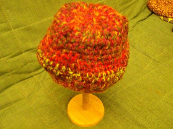 Mes travaux de bonnets hiver au crochet 2014 Création unique