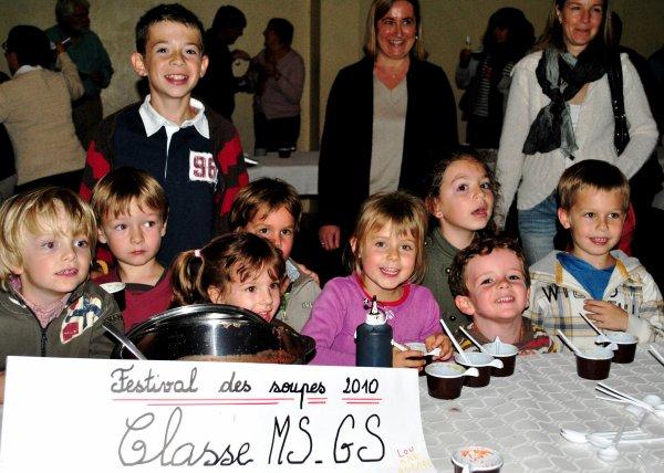 Festival des soupes Sarra Llovet, meilleure louchiere 2010