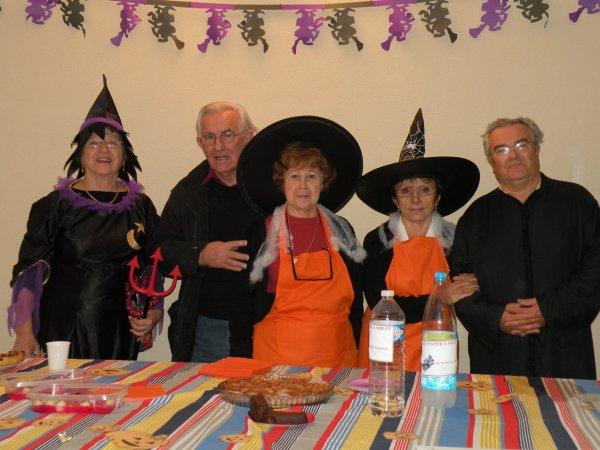 """Halloween 2010, les sorcieres """"Meme pas Peur"""""""