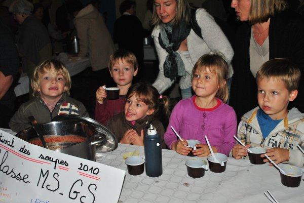 Bientot le Festival des soupes à Sablet