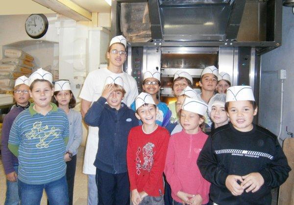 La Boulangerie Moulin, artisan à Sablet, partenaire de la semaine du gout.
