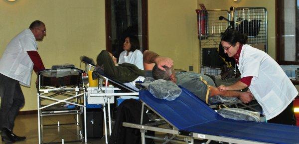 Les donneurs de sang se mobilisent.