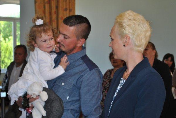 Premier baptême civil pour la nouvelle municipalité