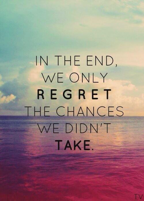 Regrets...
