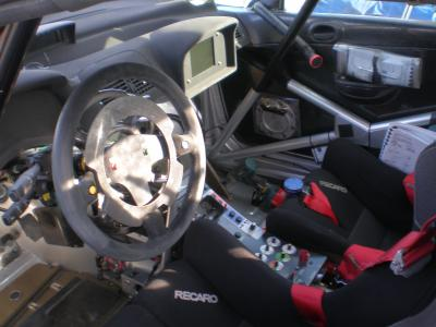 L 39 interieur de la 307 wrc de pascal trojani rallye men for Interieur wrc