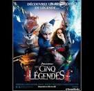 cinéma: les cinq légendes
