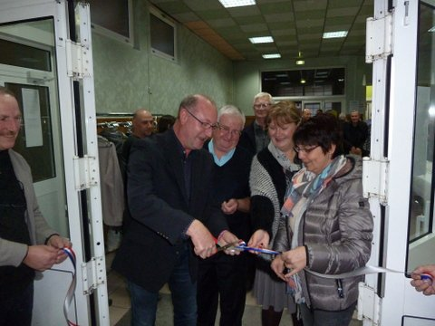 concours 2015 Noyelles sous lens inauguration par Mr Alain Roger Maire de Noyelles sous Lens