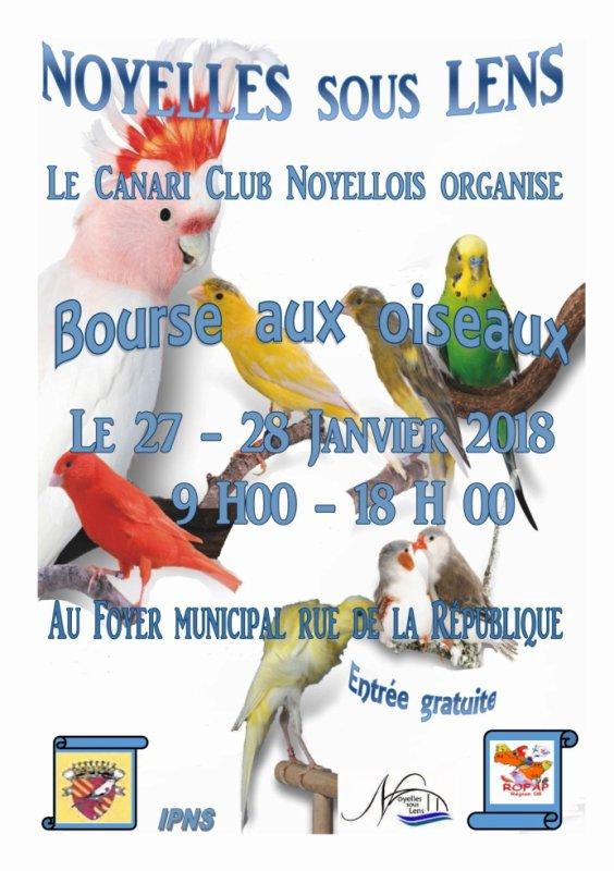 bourse Noyelles sous Lens le  27 et 28 janvier 2018