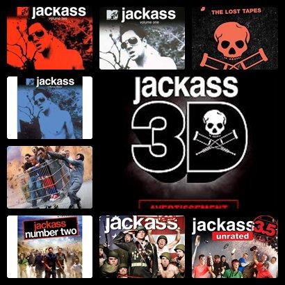 Tout les film Jackass