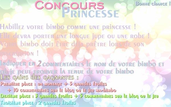Concours Princesse