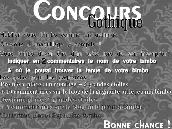 Concours Gothique