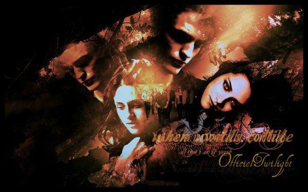 Welcome ! Bienvenue sur Mon blog Officiel Twilight !
