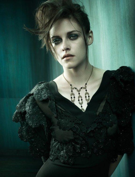 Photoshoot de Vogue en Italie - Kristen