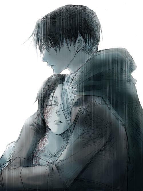 Eren et Livaï (L'Attaque des Titans)