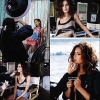 ". 20/09/10__Extraits des photos du livre de Cheryl Cole "" Through My Eyes "" par  Hello! Magazine qui c'est fait a Malibu.  20/09/10__+ dans les coulisses de la photoshoot par Absynth.  ."