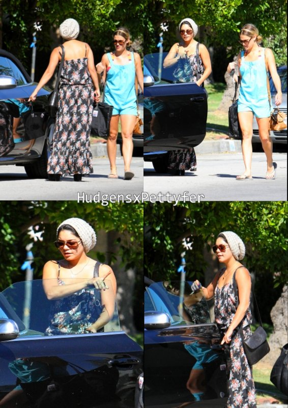 Thursday , August 25th : Vanessa quitte la maison d'un ami à Studio City .