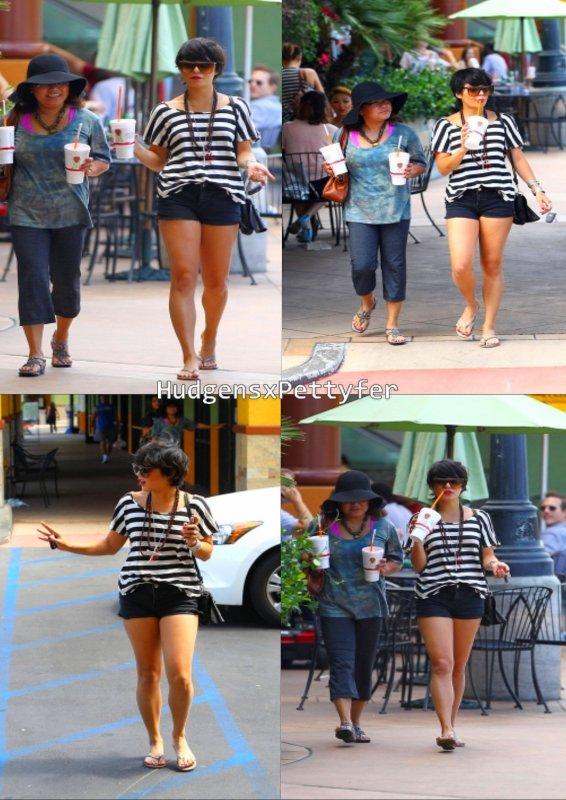 Friday , August 26th : Vanessa et sa maman Gina passe une journée mère-fille à se faire dorloter au Jardin Nails à Studio City