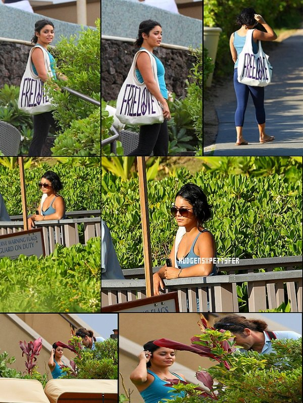 Tuesday, September 12th ; Vanessa se promenant dans Hawaii.