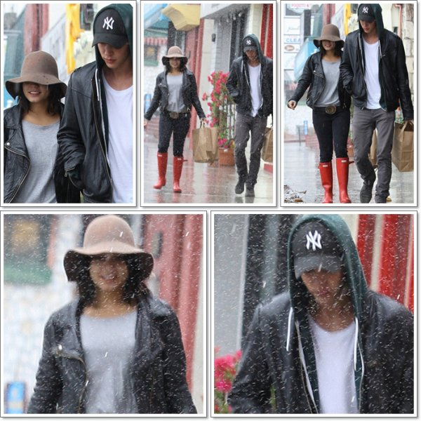 Wednesday, October 5th ; Vanessa & Austin allant vers leur voiture à Studio City.