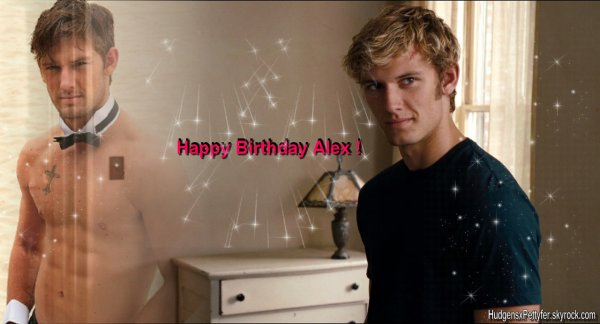 HAPPY BiRTHDAY ALEX ♥