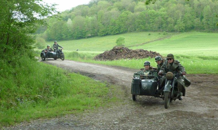 L'armée allemande arrive