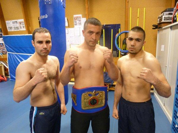 "pros douai boxing club mehdi ""coco"" MOUHIB, Mohamed ""PARIGO"" MERAH, Farid CHEBABHA"