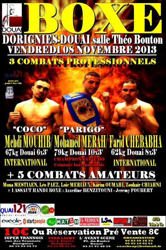 affiche gala dorignies 8 novembre