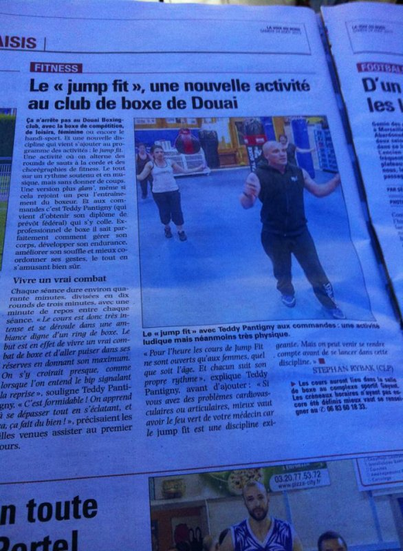 JUMPFIT Douai boxing club