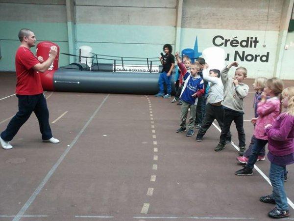 initiation boxe educative a pecquencourt : coach teddy pantigny