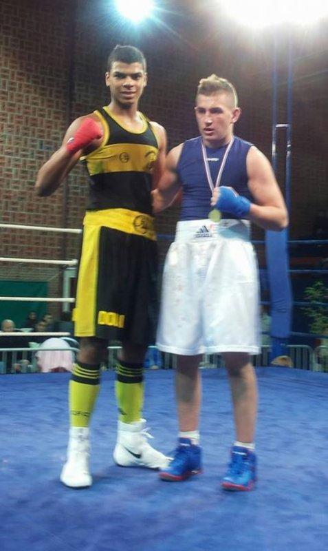 leo paez champion des flandres cadet 70kg