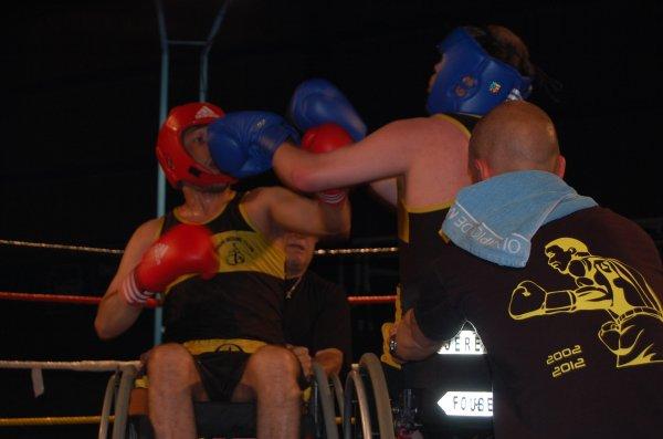 boxe handiboxe azzedine et jeremy a pecquencourt le 7 juin 2014