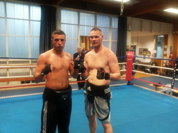 sparring : PARIGO et thierry karl