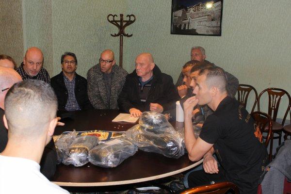 reunion technique WBF le 6 nov apres la pesée des pros
