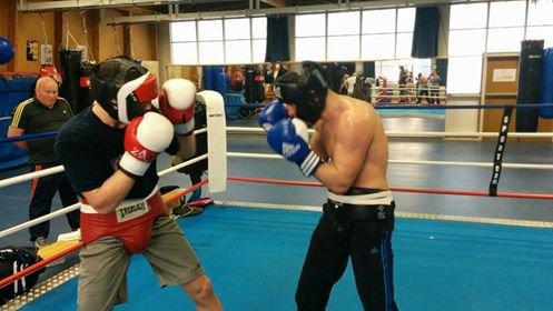 sparring préparation gala 20 mars PARIGO Vs Timour