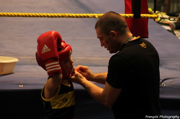 gala du 20 mars 2015 a douai , la boxe educative