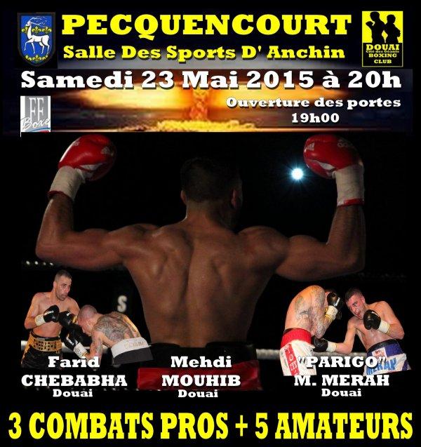 gala de boxe a pecquencourt le 23 Mai