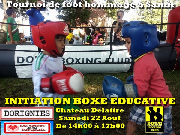 inititiation boxe a dorignies