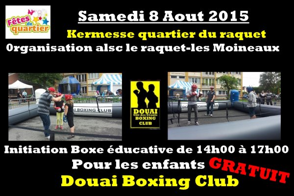 initiation boxe au raquet