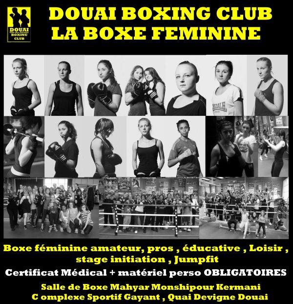 la boxe féminine douaisienne