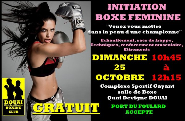 initaition boxe feminine