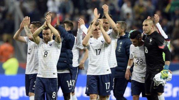 La France a gagné 4-0 face à la Norvège