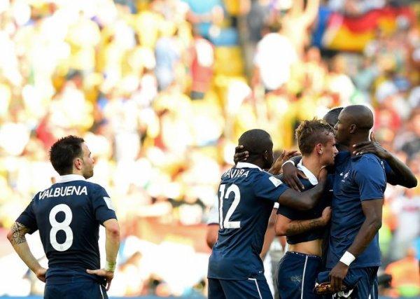 L'Equipe de France éliminée