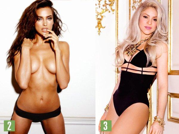 TOP 10 des femmes les plus sexy des footballeurs !