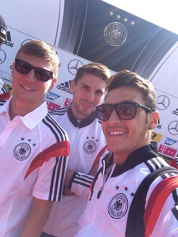 Les allemands de retour chez eux !
