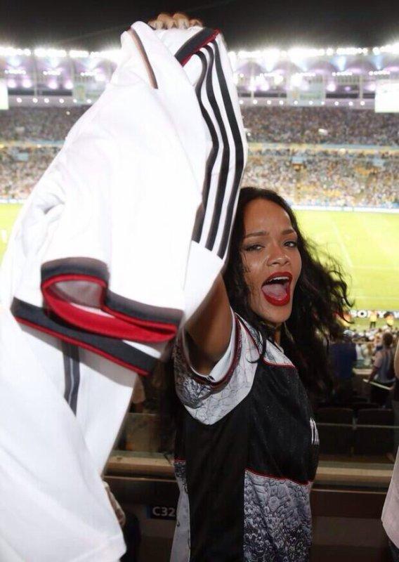 Rihanna et la Mannschaft : une vraie histoire d'amour !