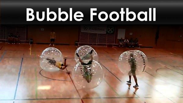 La Coupe du Monde vous manque ? Découvre le Bubble Foot !