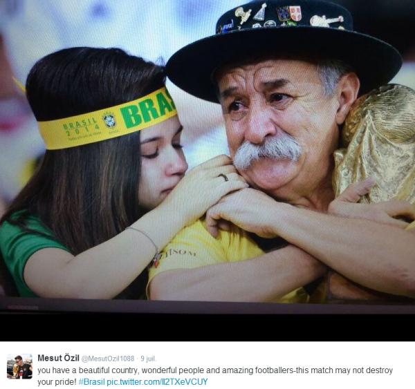 Mesut Ozil sauve 23 enfants brésiliens !