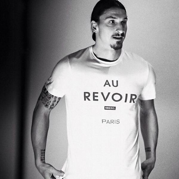 """Au revoir Paris"" - Zlatan Ibrahimovic !"