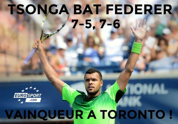 Tsonga, le victorieux !