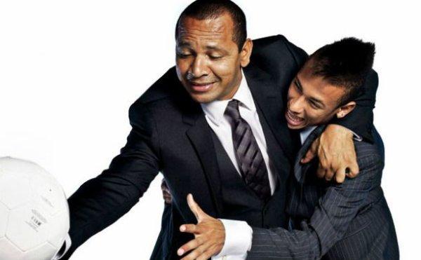 Neymar adresse une déclaration d'amour à son père et son fils !